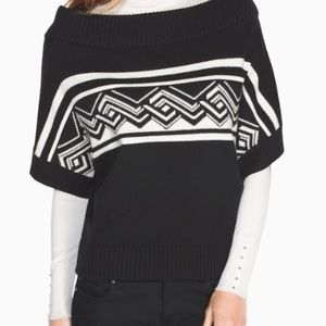 White House black market Poncho Large With Tags